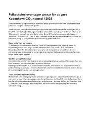 Folkeskoleelever tager ansvar for at gøre København CO2-neutral i ...