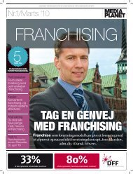 franchisetillæg - Dansk Erhverv