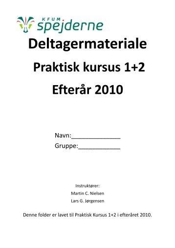 dud - praktisk kursus - kompendie-2 - Spejdernet