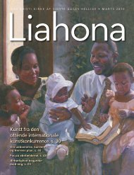 Marts 2010 Liahona - Jesu Kristi Kirke af Sidste Dages Hellige
