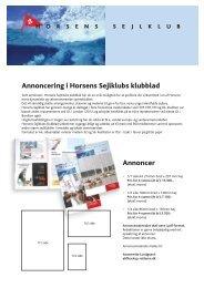 Annoncering i vores flotte klubblad.pdf - Horsens Sejlklub