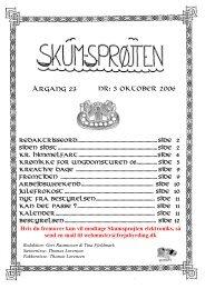 3 oktober 2006 Hvis du fremover kun vil modtage ... - Freja Byrding