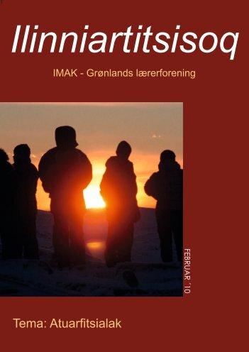 Februar 2010 Ilinniartitsisoq - Lærernes fagforening i Grønland
