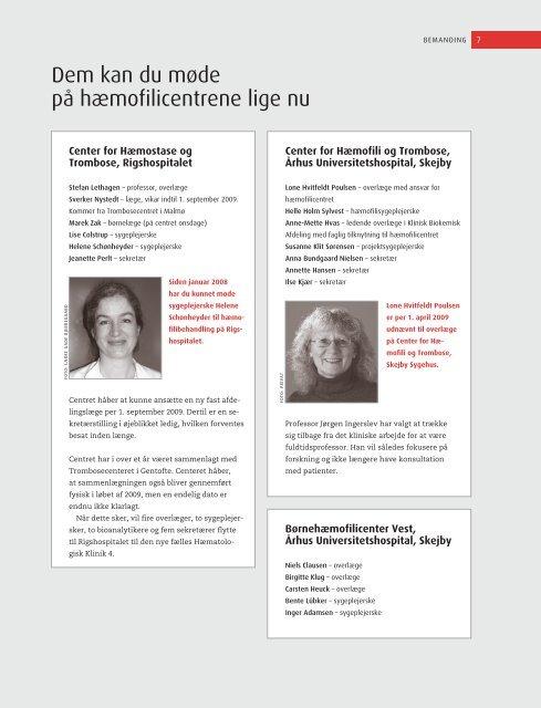 BløderNyt, april 2009 - Danmarks Bløderforening.