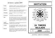 INVITATION - 24-Timers Sejlads