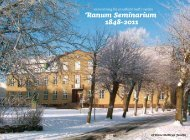 Ranum Seminarium 1848-2011 - VIA University College