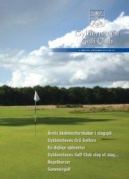 Årets klubmesterskaber i slagspil - Gyldensteen Golf Club