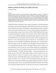 Shiisme og Shiisme-forskning i de arabiske Golf-stater