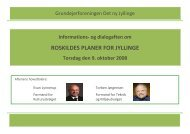 ROSKILDES PLANER FOR JYLLINGE - Grundejerforeningen Det ny ...