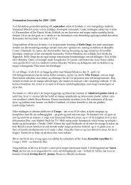årsberetning f0r 2009/2010 - Det Danske Afrika Selskab