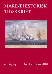 Nr. 1 / 2010 - Marinehistorisk Selskab og Orlogsmuseets Venner