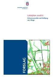 forslag lokalplan 2008-6 - Faaborg-Midtfyn kommune