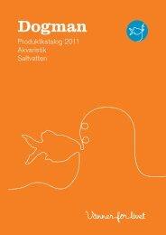 Produktkatalog 2011 Akvaristik Saltvatten - Hund & Kat