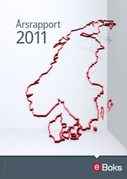 Download Årsrapport 2011 - e-Boks