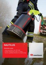 Brosjyre Nautilus nedsenkbare pumper - Egenes Brannteknikk AS