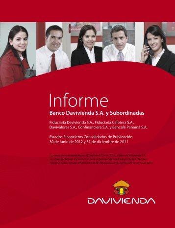 Junio Consolidado - Banco Davivienda