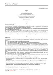 Jobskifteaftalen 2013 - Forsikring & Pension