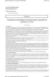 Vejledning om behandling med antipsy otis e lægemidler til ...