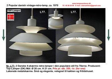 Download Gamle Loftlamper PDF - Lampesamleren