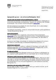 om erhvervsaffaldsgebyr 2012 - Fredensborg Kommune
