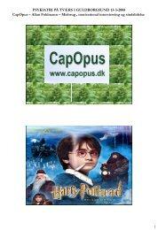 Introduktion til Social Færdighedstræning - CapOpus