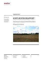 Kortlægning af naturlokaliteter - Vejdirektoratet
