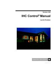 IHC Control® Manual - Lauritz Knudsen