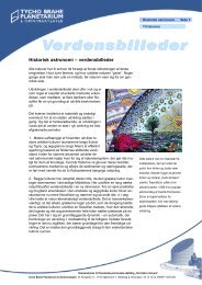 Historisk astronomi.pdf - Tycho Brahe Planetarium