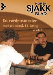 mot en norsk 14-åring - Sjakktuelt