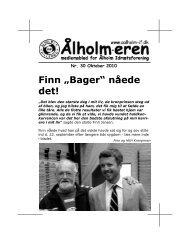 """Finn """"Bager"""" nåede det! - KlubCMS"""