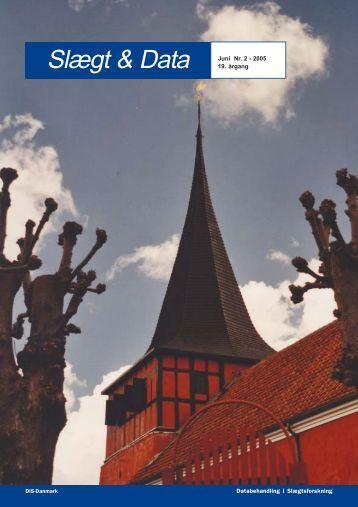 2005-2 slægt & data.pdf - DIS-Danmark