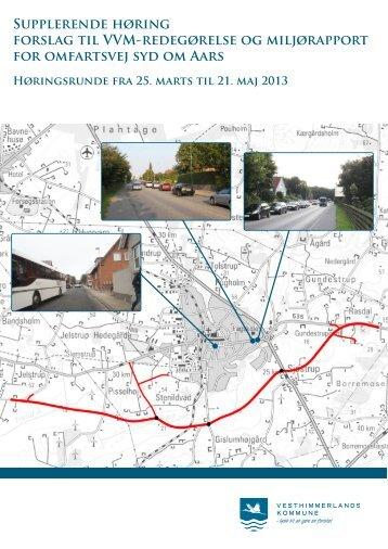 VVM Redegørelse Marts 2013 - Vesthimmerlands Kommune