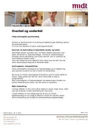 Overbid og underbid - Aarhus Universitetshospital