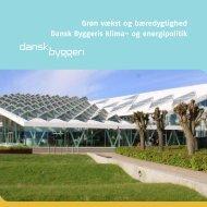 og energipolitik - Dansk Byggeri