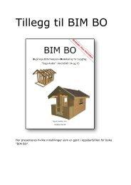 Tillegg til BIM BO - Grethes Hus