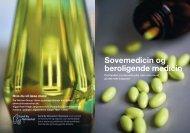 Sovemedicin og beroligende medicin - Sund By Netværket