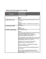 Referat af TR-møde mandag den 19. maj 2008 Dagsorden: 1 ...
