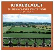 Kirkeblad juni-juli-august 2012 - Sønderby og Kærum Kirker