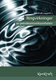 Konkraft rapport 7 Ringvirkninger av petroeumsvirksomheten (.pdf)