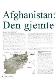 Afghanistan - den gjemte historien i Spor - NTNU