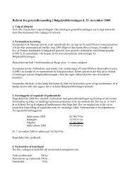 Referat af generalforsamling i Bølgekraftforeningen d - Waveenergy.dk