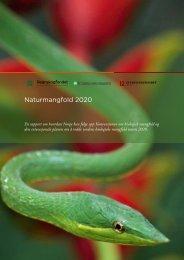 Naturmangfold 2020 - Utviklingsfondet