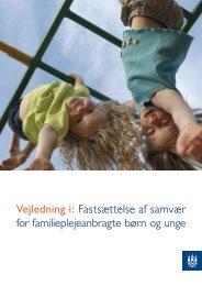 Vejledning i - Center for Familiepleje