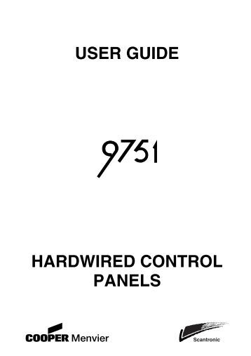 ATS2000/3000/4000/4500 Control Panel Programming guide