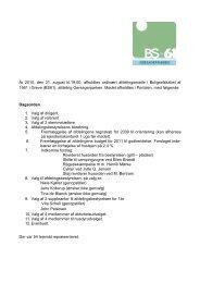 31.08.2010 Afdelingsmøde klik her og se referat - BS61