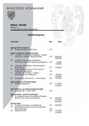 Referat - Byrådet - Ringsted Kommune