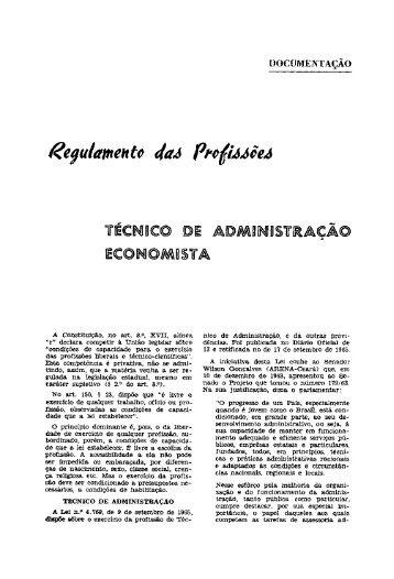 ilÉCINIUCO IOE AroM\RINJDSTIlACÃO