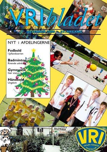 Blad nr. 2 årg. 2009 - Vejlby-Risskov Idrætsklub