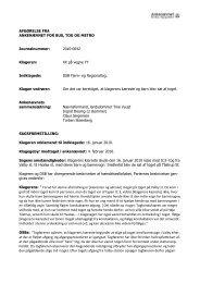Afgørelse 2010-0042, 28. juni 2010, DSB - Ankenævnet for Bus, Tog ...