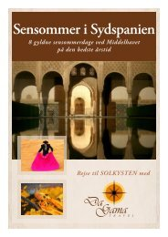 Sensommer i Sydspanien - DaGama Travel